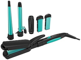 Havells Hc4045 5 in 1 multi styling kit Hair Styler ( Black )