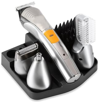 Heavy Duty 4 In 1 Washable Rechargeable Electric Professional Beard & Hair Trimmer for Men
