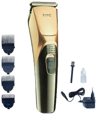 HTC AT-228 Rechargeable Hair Cordless Trimmer for Men(Gold)