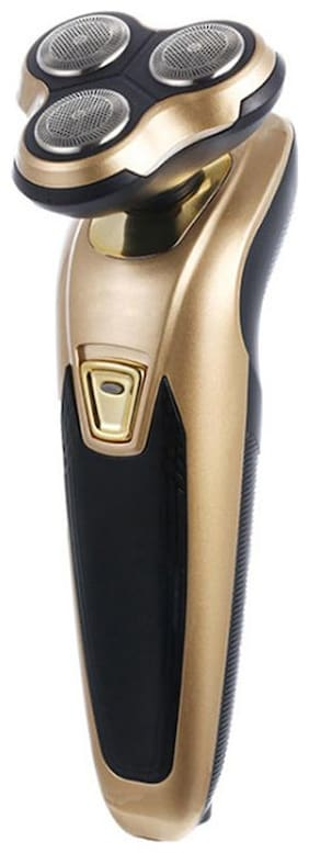INNOVA 3 IN 1 HAIR NOSE TRIMMER SHAVER Multi-Function Trimmer For Unisex ( Gold , Rechargeable Battery )