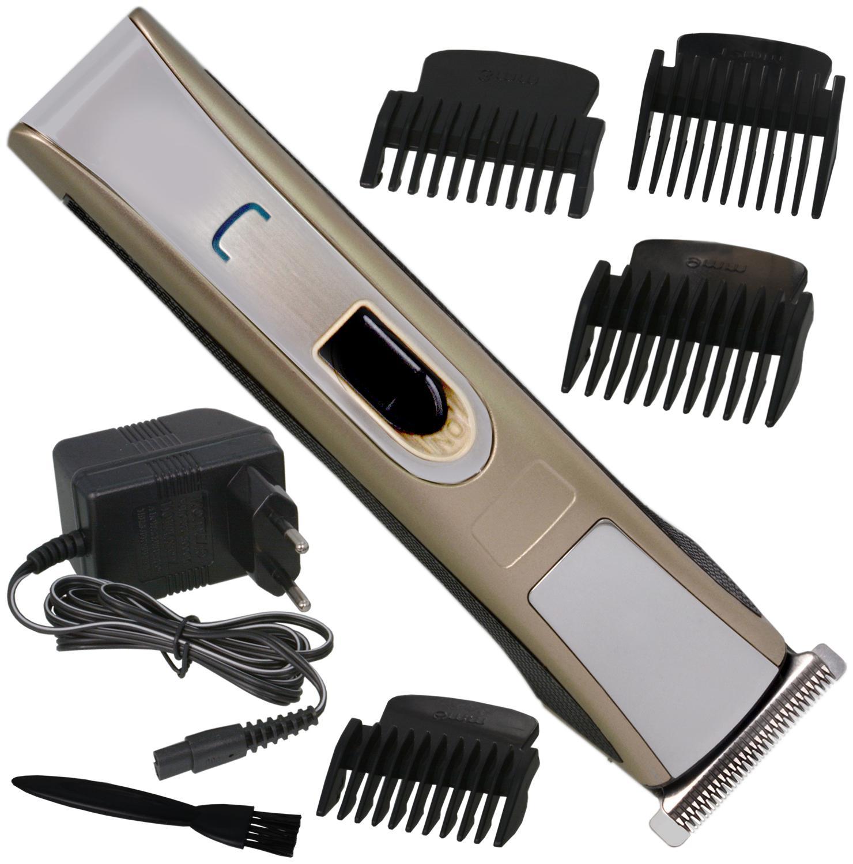 JM Men Cordless Electric Rechargeable Beard Mustache Hair Clipper Trimmer   259 by Jupiter Mall