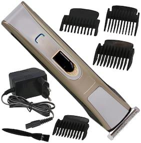 JM Men Cordless Electric Rechargeable Beard Mustache Hair Clipper Trimmer - 259