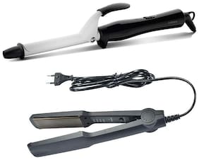 KIX2 Kx-522 hair straightener and hair curler 471b Hair Styler ( Black )