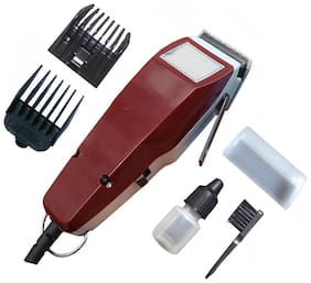 Meherma FYC-1400 Hair Clipper For Men ( Maroon , Direct AC Powered )