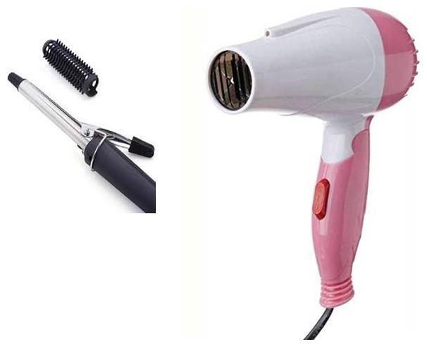 NOVA CLUB CLUB1000+471B Hair Dryer   Pink   Black   by K J Enterprises