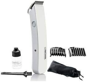 Nova Nht 216 Beard & Hair trimmer For Men ( White )