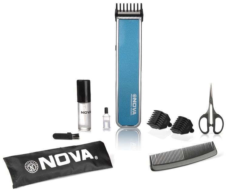 Nova Nht 1055 b Mustache   beard trimmer For Men   Blue