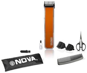 Nova NHT 1055 O Trimmer For Men (Orange)