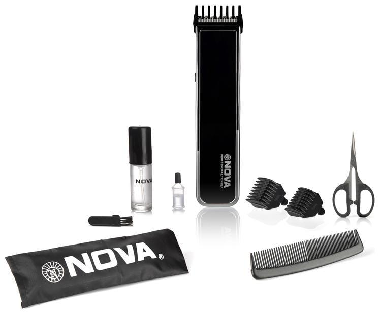 Nova Nht 1055 bl Mustache   beard trimmer For Men   Black