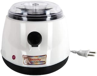 Ozomax BL-291-SMW Smoothy Wax Heater with Non-Stick Coating and Temperature Controler (White;Black)