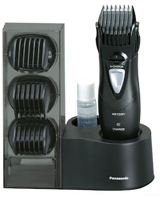 Panasonic Ergy10 Mustache & beard trimmer For Men ( Black )
