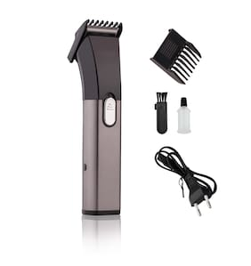 Perfect Nova PN-1107B Rechargeable Beard & Hair Trimmer For Men (Black, Grey)