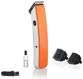 Perfect Nova PNHT-9048 Beard & Moustache Runtime: 45 Trimmer for Men (Orange)