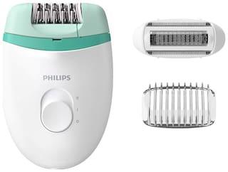 Philips Bre245/00 satinelle essential corded Epilators ( White & Green )
