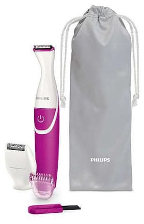 Philips BRT382/15 Multi-Function Trimmer For Women ( Pink & White , AA Battery )