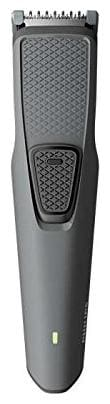 Philips Bt1210/15 Mustache & Beard Trimmer For Men ( Black & Grey )