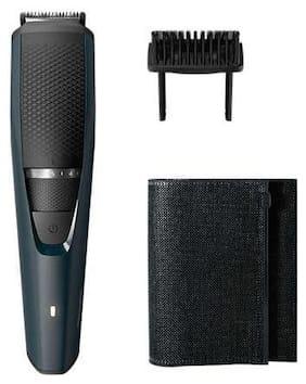 Philips BT3205/15 Mustache & Beard Trimmer For Men ( Black , Rechargeable Battery )