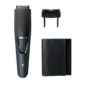 Philips Bt3205/15 Mustache & beard trimmer For Men ( Black )