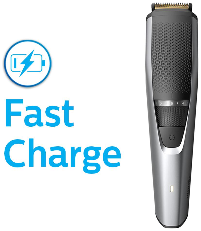 Philips Bt3221/15 corded & cordless titanium blade Mustache & beard trimmer For...