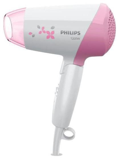 Philips Essential Care HP8120/00 Hair Dryer For Men/Women (White & Pink)