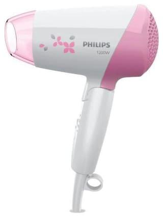 Philips HP8120 Hair Dryer ( White & Pink )