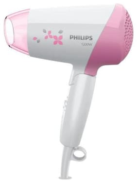 Philips Hp8120 Hair Dryer ( White & Pink )