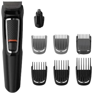 Philips Mg3730/15 Mustache & beard trimmer For Men ( Black )