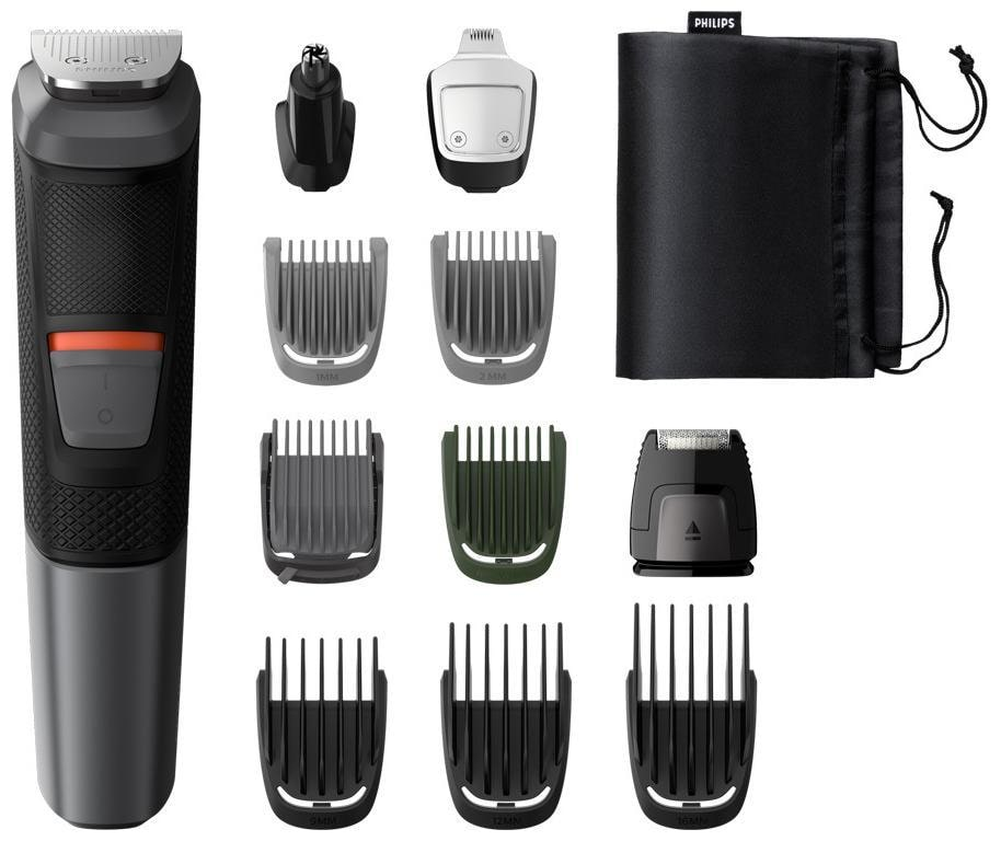 Philips MG5730/13 11-in-1 Multi Grooming Kit for Face, Hair & Body Trimmer...
