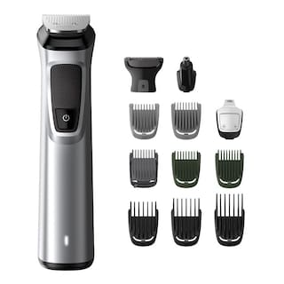 Philips MG7715/15 13-IN -1 Multi-Function Trimmer For Men ( Grey , Rechargeable Battery )