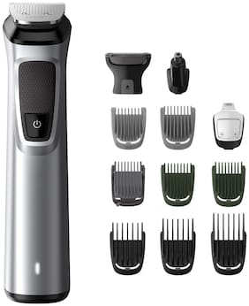 Philips Mg7715/15 Nose & ear trimmer For Men ( Grey )