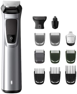 Philips MG7715/15 Nose & Ear Trimmer For Men ( Grey , Rechargeable Battery )