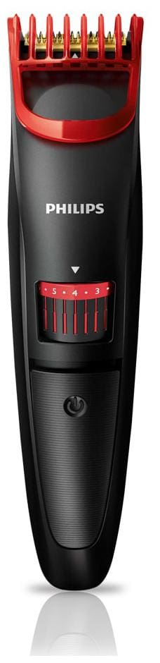 Philips Qt4011/15 Mustache & beard trimmer For Men ( Black & Red )