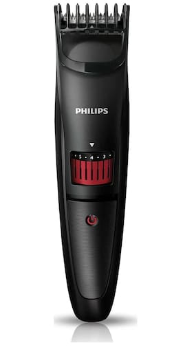 Philips Qt4005/15 Mustache & beard trimmer For Men ( Black )