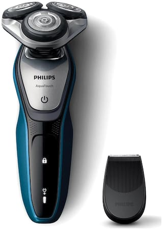 Philips S5420/06 Men's Shaver - Black & Blue
