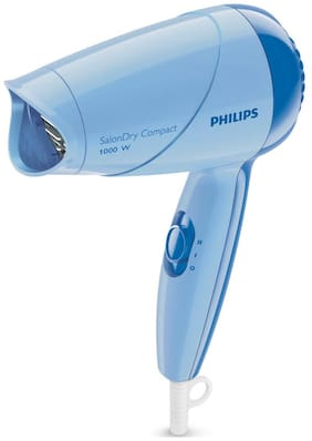 Philips SalonDry Compact HP8100/06 Hair Dryer For Unisex (Blue)