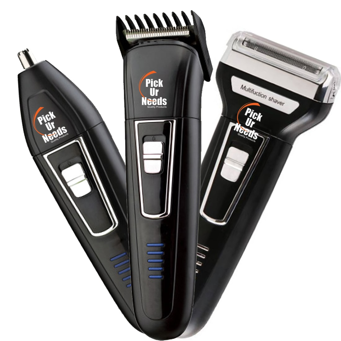 Pick Ur Needs Professional Shaver and 3 in 1 Beard, Nose and...