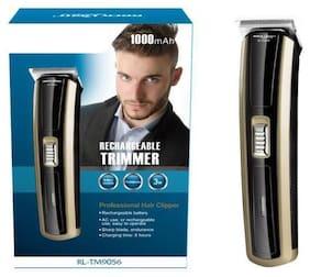 Rock light RL-TM9056 Beard Trimmer For Unisex ( Gold , Rechargeable Battery )