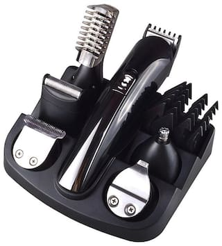 ROYCE 6 IN 1 Multi-Function Trimmer For Men ( Black , Rechargeable Battery )