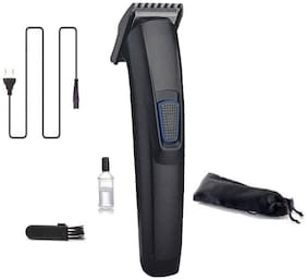 S4 AT-522 Professional Rechargeable Hair Clipper and Trimmer for Men Beard and Hair Cut (Black)