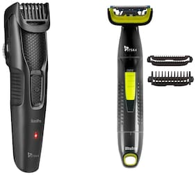 Syska CPM 3020U Grooming Kit For Men ( Black & Yellow , AA Battery )