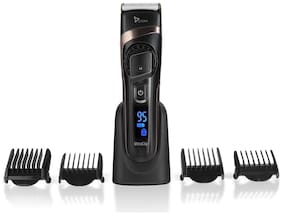 Syska HB100 Hair Clipper For Unisex ( Black , Rechargeable Battery )