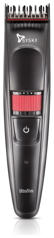 Syska Ht1000 ultratrim Mustache   beard trimmer For Men   Black   by Sakshi Enterprises JPR