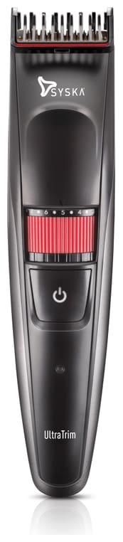 Syska Ht1000 ultratrim Mustache & beard trimmer For Men ( Black )