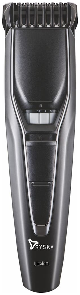 Syska Ht300 Mustache & beard trimmer For Men ( Black )