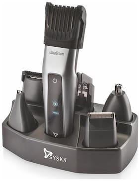 Syska Ht3052k Hair clipper For Men ( Black & Silver )