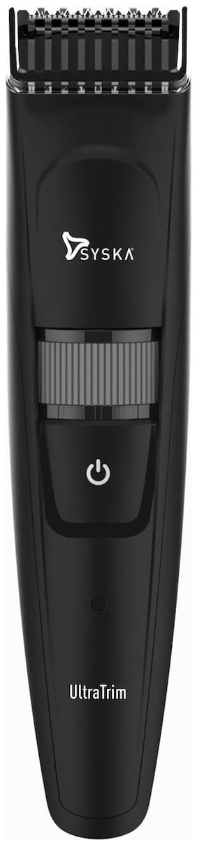 Syska Ht800 Beard & Hair Trimmer For Men ( Black )