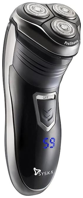 Syska SH986 Men's Shaver - Black