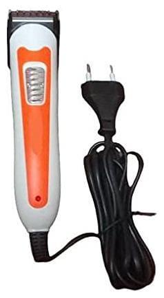 Uvasaggaharam KJ-HC 405 Beard Trimmer For Men ( Orange , Direct AC Powered )