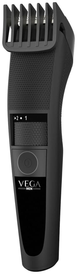 Vega T-3 Cordless & USB Quick Charging Beard & Hair Trimmer For Men (VHTH-19, Black)