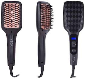 Vega Vhsb-02 Hair Straightener ( Black )